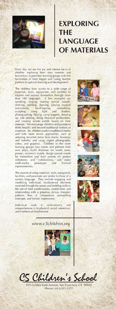 The Innovative Teacher Project provides professional development opportunities for educators, administrators and parents interested in the study of the Reggio Emilia approach to early childhood education. Reggio Classroom, Classroom Projects, Early Childhood Centre, Early Childhood Education, Inquiry Based Learning, Early Learning, Learning Stories Examples, Reggio Emilia Approach, Emergent Curriculum