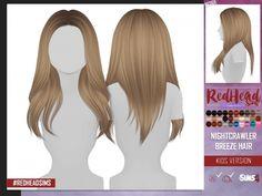 The Sims 4 NIGHTCRAWLER BREEZE HAIR KIDS VERSION