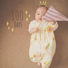 今日で娘100日です パパ不在のためお食い始めと 写真とお宮参りは後日… これからもママとパパが 大切に育てるね☺️ おめでとうゆうか #赤ちゃん#娘#生後3ヶ月#100日