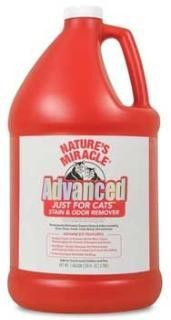 Nature's Miracle Stain/Odor Advanced Just Cats 128oz