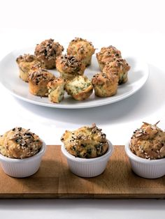Dereotlu peynirli muffin