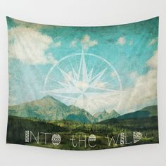 Into the Wild Wall Tapestry by Jenndalyn - $39.00