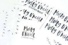 HANDLETTERING | MOLLY O'NEILL LOGO DESIGN