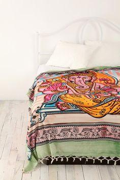 Ganesha bed spread
