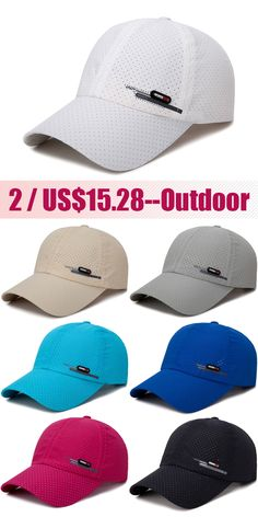 Men's Summer Breathable Adjustable Mesh Hat Quick Dry Cap Outdoor Sports Climbing Baseball Cap is hot sale on Newchic. American Football, Mens Beret Hat, Designer Baseball Caps, The North Face, Basketball Birthday Parties, Sport Climbing, Clip On Sunglasses, Newsboy Cap, Leather Cap