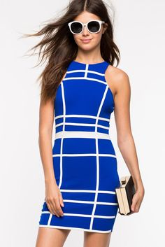 Walk The Line Bodycon DressWalk The Line Bodycon Dress