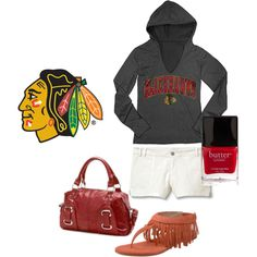 """""""Saturday Morning Pride"""" by hawksfan19 on Polyvore"""