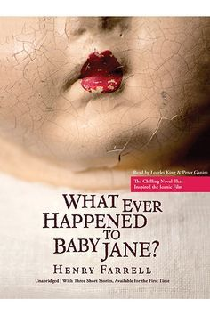 """11 Of The Scariest Books Of All Time #refinery29 http://www.refinery29.com/best-scary-thriller-books#slide1 What Ever Happened To Baby Jane? """"Imagine living your adult life being tormented by your sister, all because you turned out to become a bigger movie star than her. You're paralyzed because she ran you down with her car, locked in your room day and night with no contact with the outside world, and are psychologically beat down as your sister slowly slips into insanity. Hang on to ..."""
