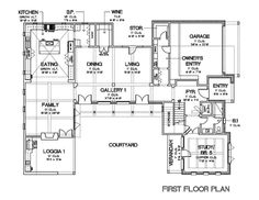 This European Design Floor Plan Is 5159 Sq Ft And Has 5 Bedrooms And Has  Bathrooms.