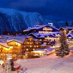 Courchevel,France in winter Luxury Family Holidays, Ski Holidays, Montenegro, Bósnia E Herzegovina, Stations De Ski, Skier, Voyage Europe, Fantasy Places, French Alps