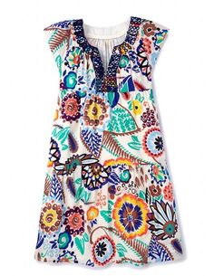 Breezy Emma Dress WH817 Day Dresses at Boden