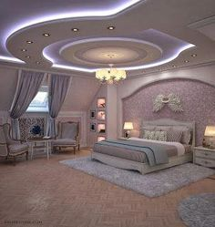 Get amazing Ceiling Design for your home, office and any building of your choice Simple False Ceiling Design, House Ceiling Design, Ceiling Design Living Room, Bedroom False Ceiling Design, Living Room Designs, Fancy Bedroom, Master Bedroom Interior, Luxury Bedroom Design, Master Bedroom Design