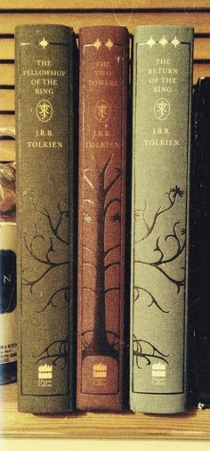 Tolkien's The Lord of the Rings | Photo: Breathing Books ( I have two of these…