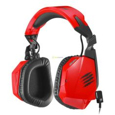 Mad Catz F.R.E.Q. 3 Stereo Gaming Headset RED DESIGN CYBORG CUFFIA CUFFIE