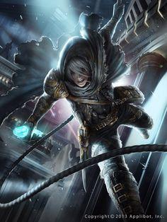 Odamaki The Magic Stone Hunter Advance  https://www.facebook.com/Zeen.Chin http://zeen84.deviantart.com/ http://zeen.artstation.com/  #Zeenchin #thebrushtool #digitalart #cg