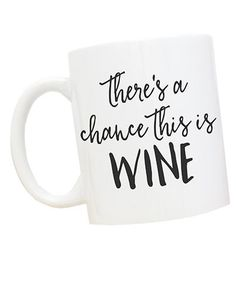 It's 5pm somewhere, right? This classic glossy white ceramic mug, made in southern California, is fancied up with hand-lettered font. It makes a fantastic gift for the recent college grad in your life who has yet to see the purpose of breakable, dust-gathering sets of wine glasses.