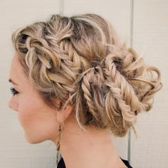 Twisted Updo Hairstyle for Black Hair - 50 Updo Hairstyles for Black Women Ranging from Elegant to Eccentric - The Trending Hairstyle Up Hairstyles, Pretty Hairstyles, Braided Hairstyles, Wedding Hairstyles, Braided Updo, Homecoming Hairstyles, Summer Hairstyles, Hairstyle Ideas, Beautiful Braids