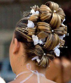 Wedding Inspiration A DIY WEDDING hair #adiywedding