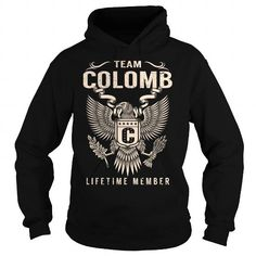 I Love Team COLOMB Lifetime Member - Last Name, Surname T-Shirt T shirts