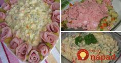 Tento šalát pripravujeme na rodinné oslavy pravidelne a vždy má veľký úspech. Podávame na rôzne spôsoby – niekto ho má rád len tak, na chlebíčky, alebo ako netradičnú chutnú prílohu!
