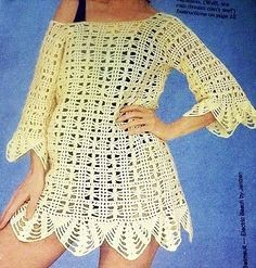 Crochet+Beach+Cover+Up+Pattern | THIS IS FOR PATTERN ONLY NOT THE FINISHED PRODUCT