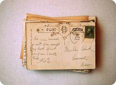 old-postcards from far far away!