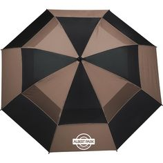 Your promotional campaign will be a hole in one when you feature this totes  (R) Auto Open Vented Golf Umbrella! 9fc612fabbf2