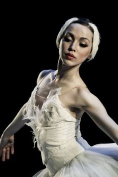 White swan // ballet // stage