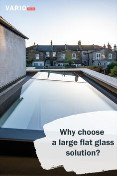 Many people aren't sure whether they'd prefer a flat glass rooflight such as those from Vario by VELUX or a roof lanter. Explore the pros and cons and what each option will offer you in terms of design, lighting, price, size, ventilation insulation and cleaning. #renovation #glazing #skylights