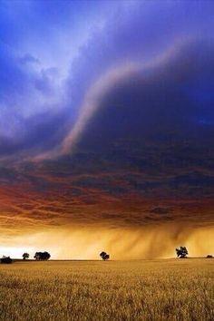 Rainstorm ~ Kansas, USA