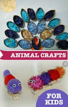 Animal Crafts for Kids