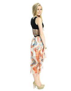 Cut It Out Sleeveless Dress
