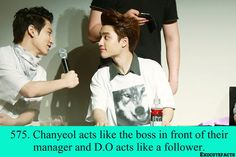 Find images and videos about kpop, exo and chanyeol on We Heart It - the app to get lost in what you love. Exo Facts, Baekhyun Chanyeol, Funny Kpop Memes, Exo Memes, Exo Sign, Chansoo, Korean Babies, Exo Do
