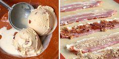 Bacon Icecream....yes...you heard me..... #bacon #icecream #recipe #food