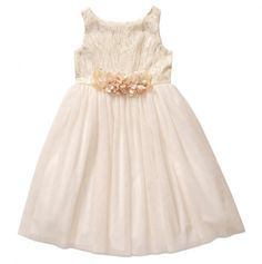 Special Occasion Sparkle Tulle Dress - Sweet Heart Rose