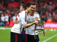 Matteo Darmian and Ander Herrera Man United, Manchester United, How To Become, The Unit, Reading, Twitter, News, Euro, Conversation