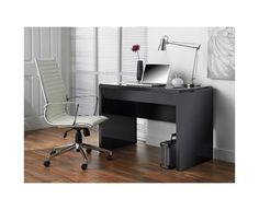In search of office inspiration for when I move home! #Office #Furniture #Stationery #Monochrome #Modern