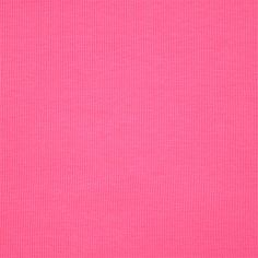 Party Pink Cotton Ribbing Knit Fabric - A bright hot pink color cotton spandex 2x1 ribbed  knit.  Fabric is the perfect light to medium weight, with a nice stretch and recovery.  Can be used for cuffs, necklines, and waistbands and is also great for tanks tops, dresses, and much more!  ::  $5.50