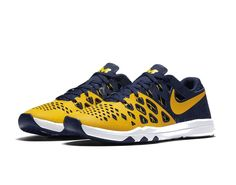 ffbaeb25c296 Michigan Wolverines NCAA Nike Speed 4 AMP Training Shoe