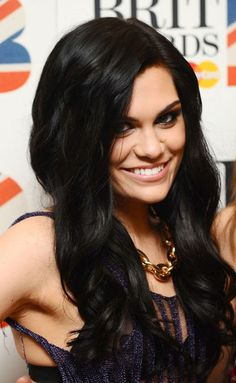 Jessie J, i love her so much better with this long dark hair.