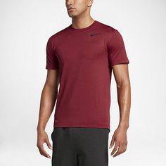 Men's Clothing Sensible Nike Dri-fit Ultimate Training Top Mens Short Sleeve Size Large Shirt Orang Great Varieties