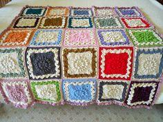 Makes an interesting blanket….