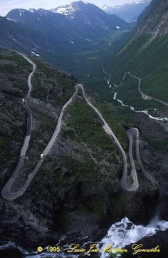 Trollstigen - the Troll Ladder, Norway