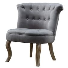 Bordeaux Tutted Accent Chair