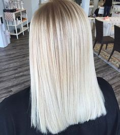 Ash blonde by @allydestouttt  #regram #americansalon