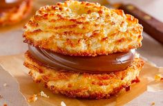 Kitchen Recipes, Gourmet Recipes, Gourmet Food Plating, Healthy Family Dinners, Macaron, Sin Gluten, Sweet Treats, Food And Drink, Sweets
