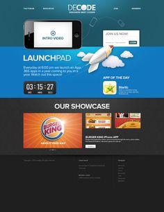 DECODE app store website