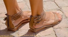 Tsonga shoes- handmade in South Africa