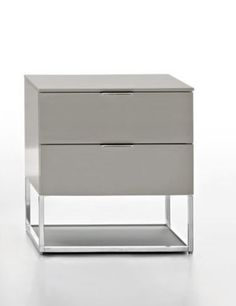 contemporary bed-side table 909 by Luca Meda Molteni & C