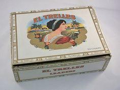 Vintage El Trelles Cigar Box